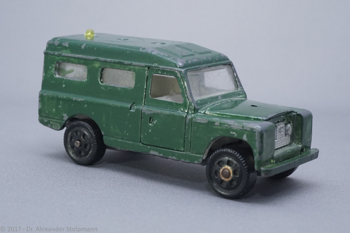 Modell Nr. 56 Land-Rover Series 24 109 Mebeytoys (25.02.2017) - Der Land Rover Treff