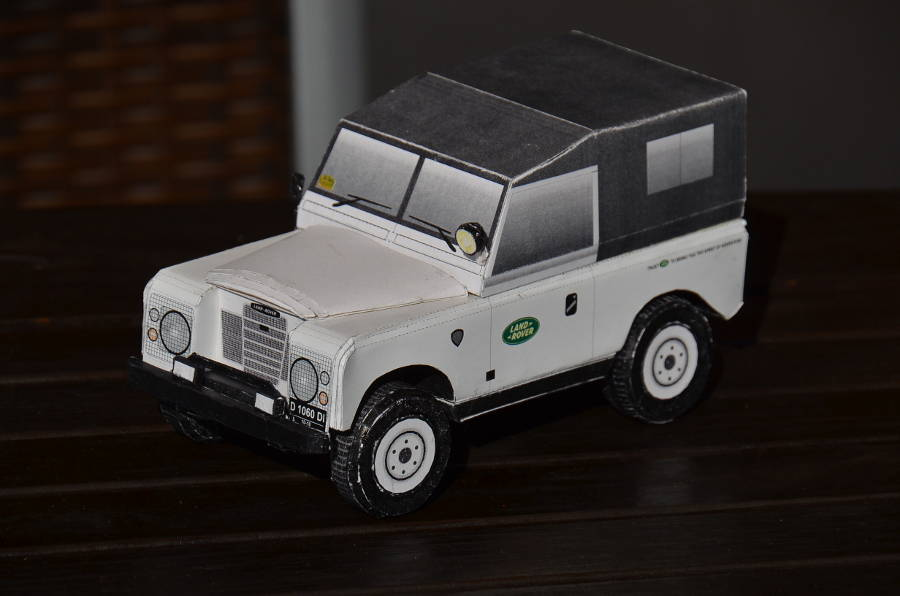 Model no. 190 Land-Rover Serie 3 88 (09.07.2017) - Der Land Rover Treff