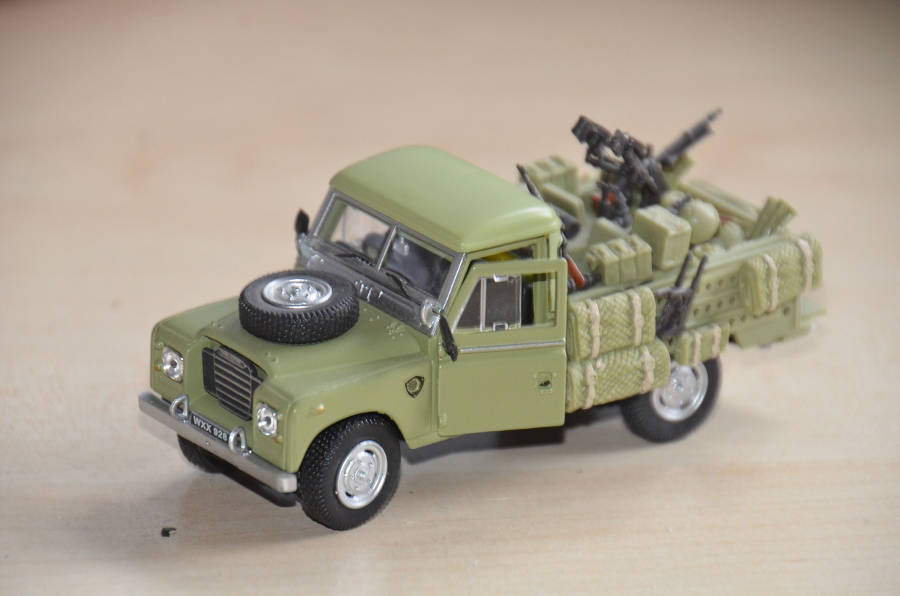 Model no. 217: Land-Rover Serie 3 109 (06.08.2017) - Der Land Rover Treff