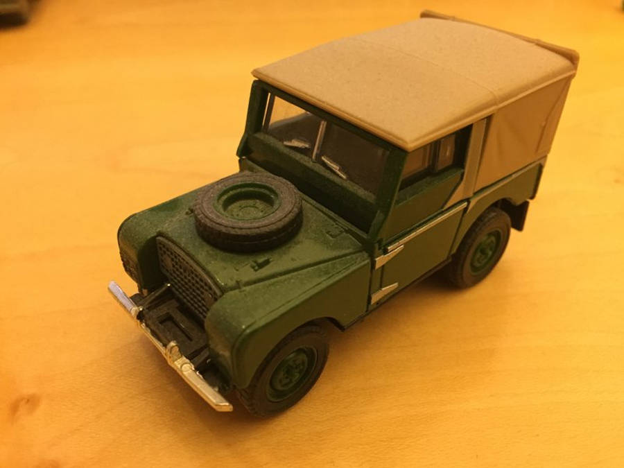 Model no. 218: Land-Rover Serie 2 86 (07.08.2017) - Der Land Rover Treff