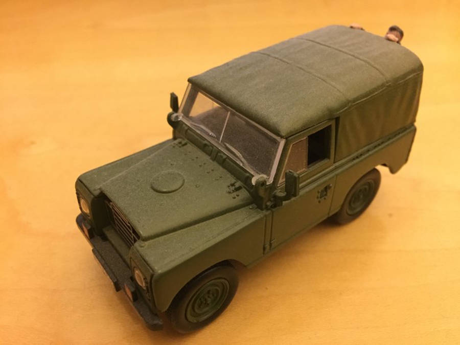 Model no. 220: Land-Rover Serie 3 88 (08.08.2017) - Der Land Rover Treff