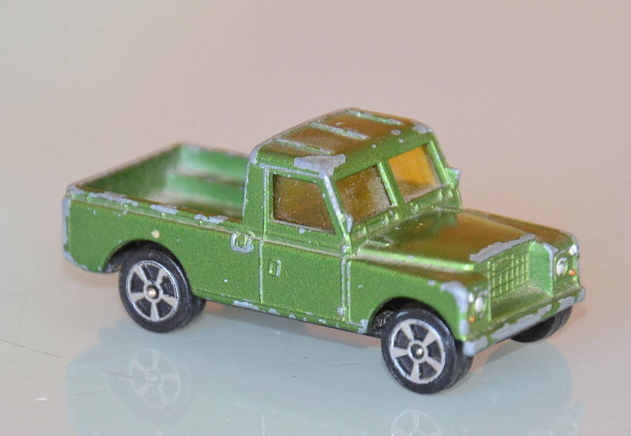 Model  no. 231: Land Rover Serie 3 109 (19.08.2017) - Der Land Rover Treff