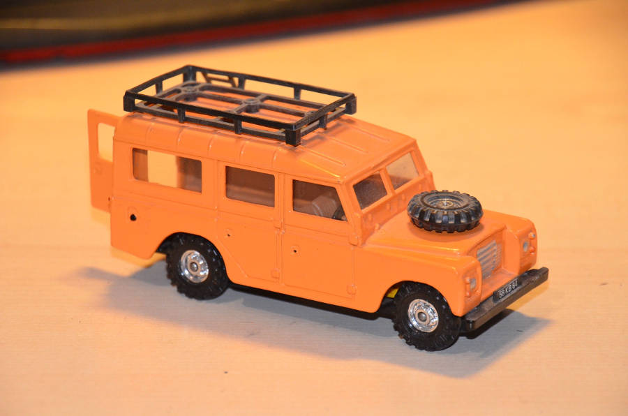 Model  no. 233: Land Rover Serie 3 109 (21.08.2017) - Der Land Rover Treff