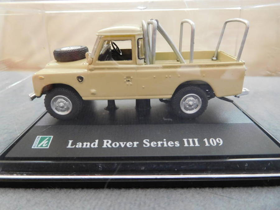Model  no. 234: Land Rover Serie 3 109 (22.08.2017) - Der Land Rover Treff