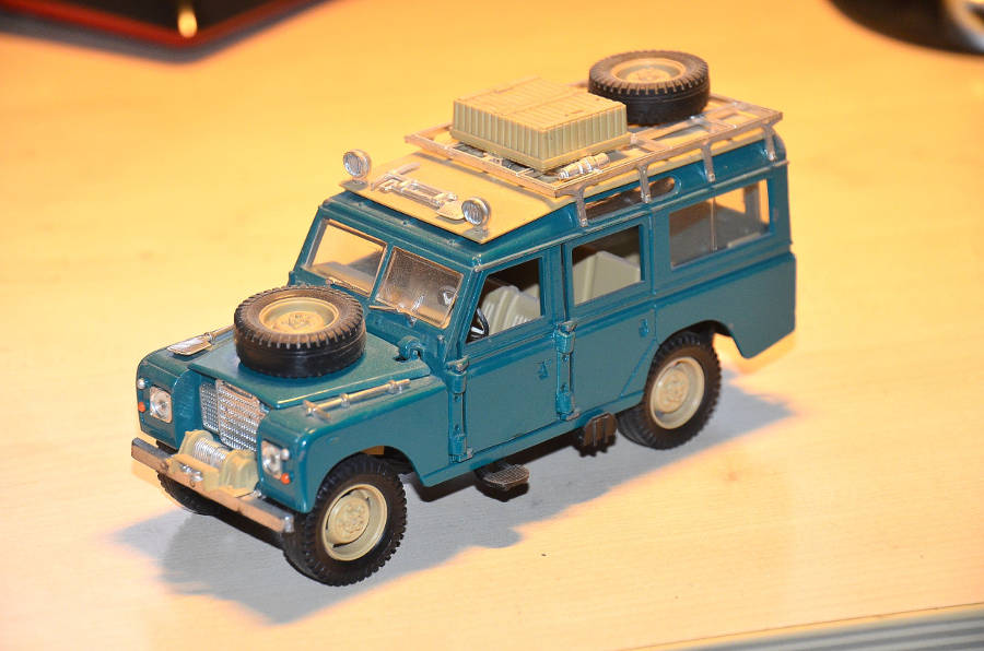 You have chosen... The model of september 2017 - Der Land Rover Treff