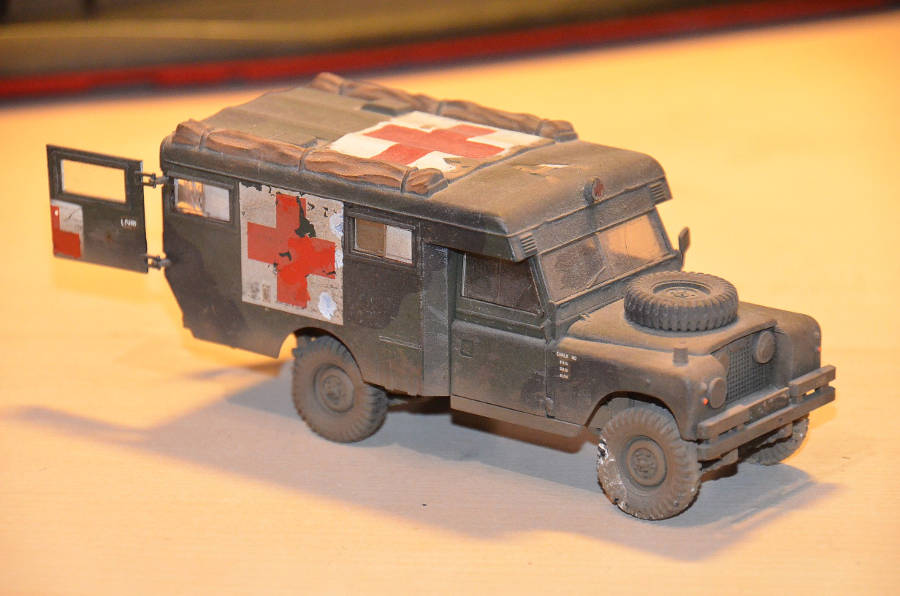 Model no. 291 Land-Rover series 2 109 - Der Land Rover Treff