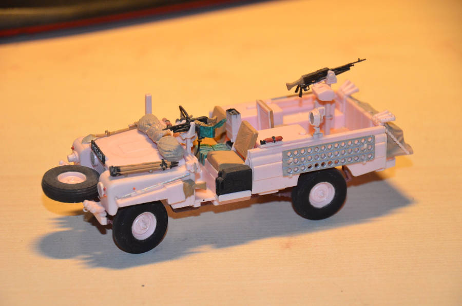 Model no. 293 Land-Rover series 2 109 - Der Land Rover Treff