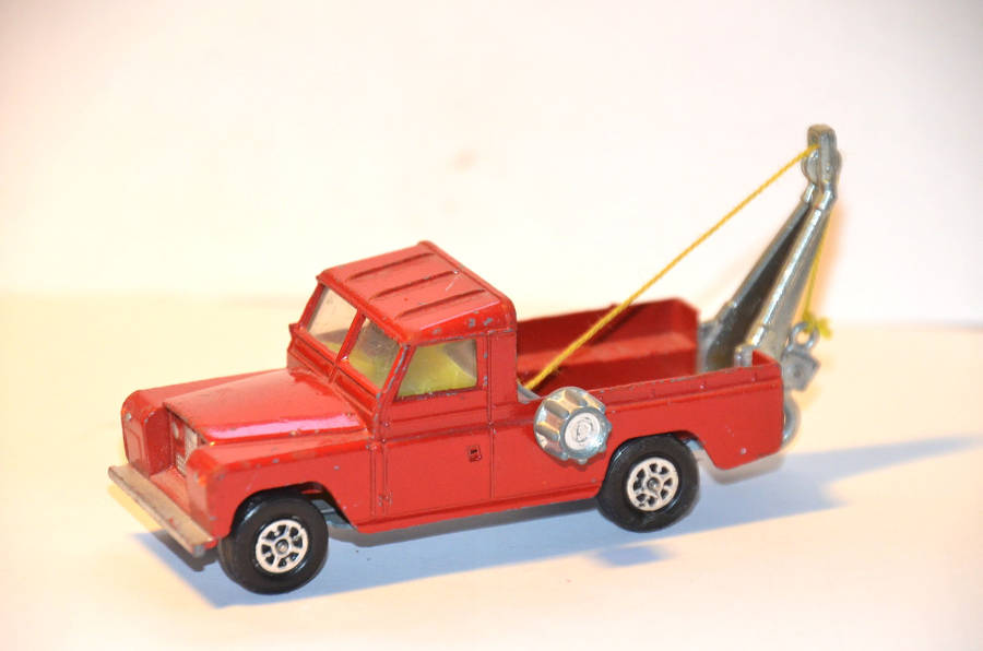 Model no. 303: Land-Rover Serie 2 109 - Der Land Rover Treff