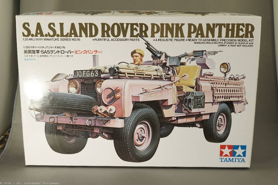 Modell Nr. 412 Land Rover Serie 2a 109 SAS Pink Panther (16.02.2018) Der Land Rover Treff