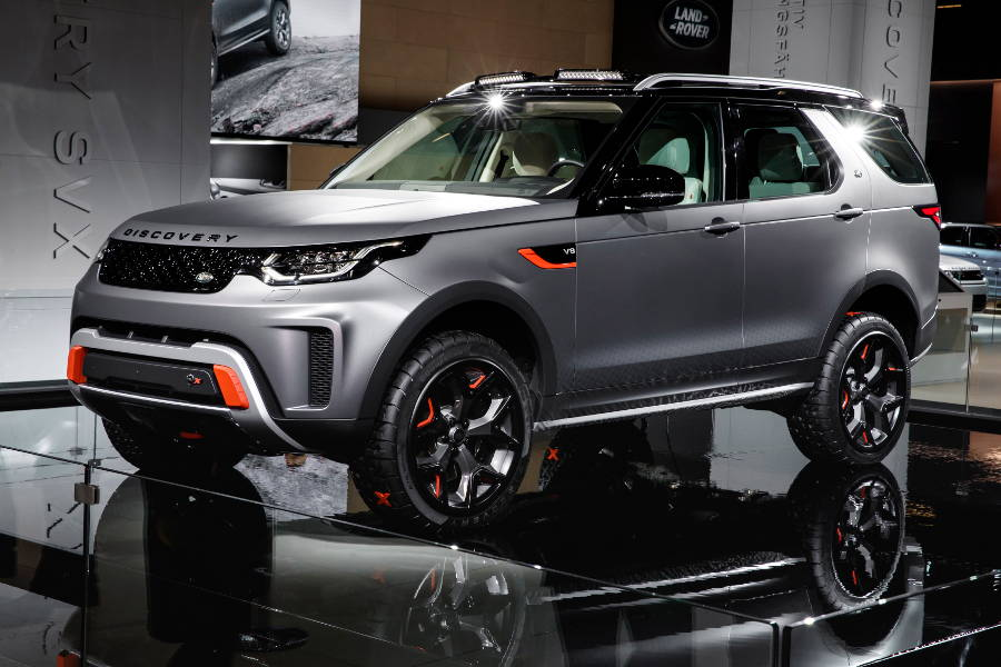 New Land Rover Discovery SVX on Der Land Rover Treff