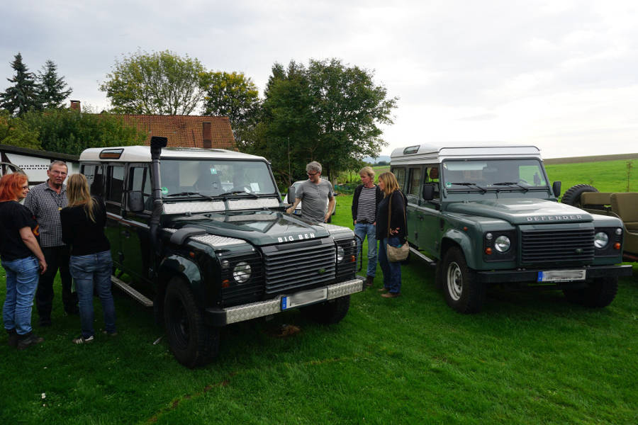 More photos from Stefans and Michaels Land Rover hangout - Der Land Rover Treff