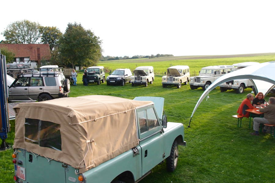 Still more photos from Stefans and Michaels Land Rover hangout - Der Land Rover Treff