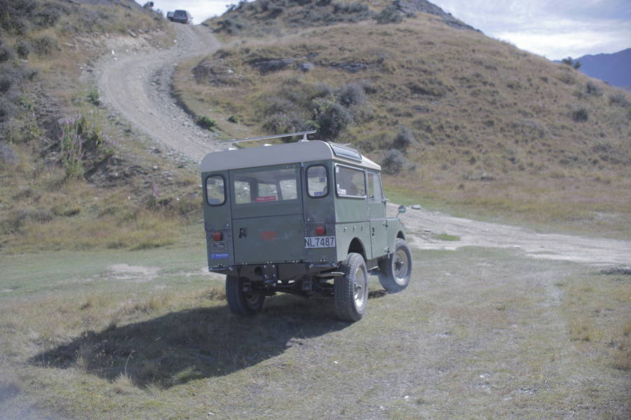 Land Rover Series 1 out of the Land Rover archiv on Der Land Rover Treff