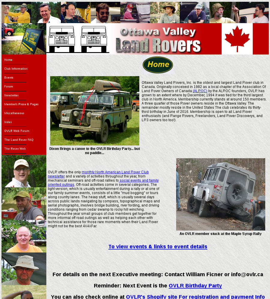 Ottawa Valley Land Rovers - Der Land Rover Treff