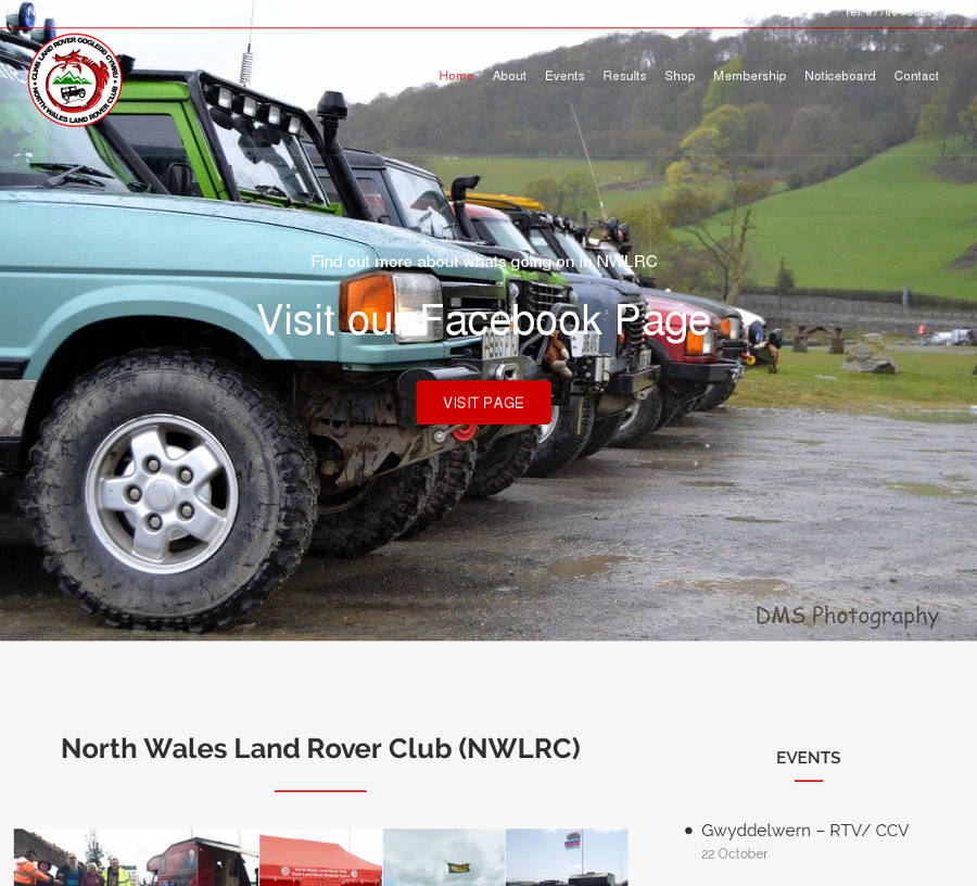 North Wales Land Rover Club - Der Land Rover Treff