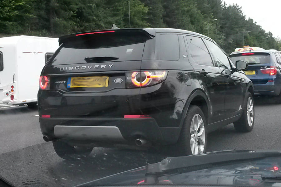 Land Rover Discovery Sport seen in Wales - Der Land Rover Treff