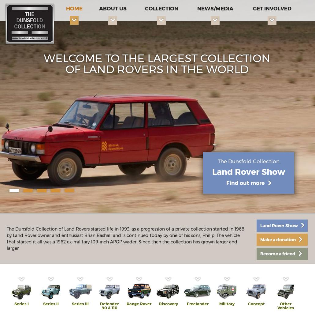www.dunsfoldcollection.co.uk auf Der Land Rover Treff
